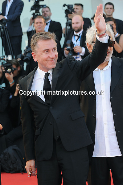 NON EXCLUSIVE PICTURE: PAUL TREADWAY / MATRIXPICTURES.CO.UK<br /> PLEASE CREDIT ALL USES<br /> <br /> WORLD RIGHTS<br /> <br /> English actor Tim Roth is pictured attending the premiere of the film Birdman Or The Unexpected Virtue Of Ignorance combined with the Opening Ceremony for the Film Festival at Palazzo Del Cinema in Venice, Italy.<br /> <br /> AUGUST 27th 2014<br /> <br /> REF: PTY 143820
