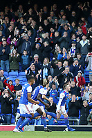 Ipswich Town's Freddie Sears celebrates scoring the opening goal<br /> <br /> Photographer David Shipman/CameraSport<br /> <br /> The EFL Sky Bet Championship - Ipswich Town v Preston North End - Saturday 3rd November 2018 - Portman Road - Ipswich<br /> <br /> World Copyright &copy; 2018 CameraSport. All rights reserved. 43 Linden Ave. Countesthorpe. Leicester. England. LE8 5PG - Tel: +44 (0) 116 277 4147 - admin@camerasport.com - www.camerasport.com