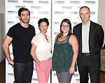 Jake Gyllenhaal, Michelle Gomez, Annie Funke & Brian F. O'Byrne.attending the Meet & Greet for the Roundabout Theatre Company Production of 'If There Is I Haven't Found it Yet'.at their rehearsal studios in New York City on 7/25/2012