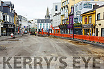Roadworks in Killarney town on Tuesday
