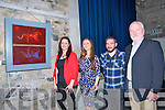 Stained Glass Exhibition : Attending the opening of a stained glass exhibition at St' John's Arts Centre, Listowel on Saturday night last were stained glass artist Mary J Leen, Tralee, Andrea Donovan, Declan O'Mahony & Jay Galvin who officially opened the exhibition.