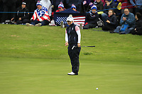 Bronte Law of Team Europe on the 10th green during Day 2 Foursomes at the Solheim Cup 2019, Gleneagles Golf CLub, Auchterarder, Perthshire, Scotland. 14/09/2019.<br /> Picture Thos Caffrey / Golffile.ie<br /> <br /> All photo usage must carry mandatory copyright credit (© Golffile | Thos Caffrey)