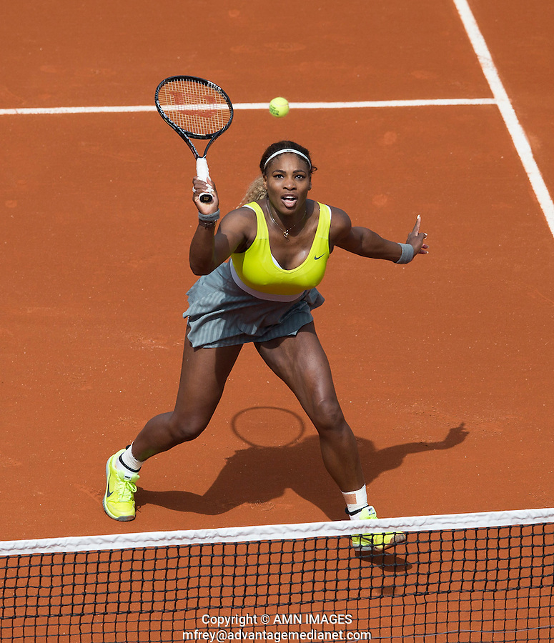 SERENA WILLIAMS (USA)<br /> <br /> Tennis - French Open 2014 -  Toland Garros - Paris -  ATP-WTA - ITF - 2014  - France -  25 May 2014. <br /> <br /> &copy; AMN IMAGES