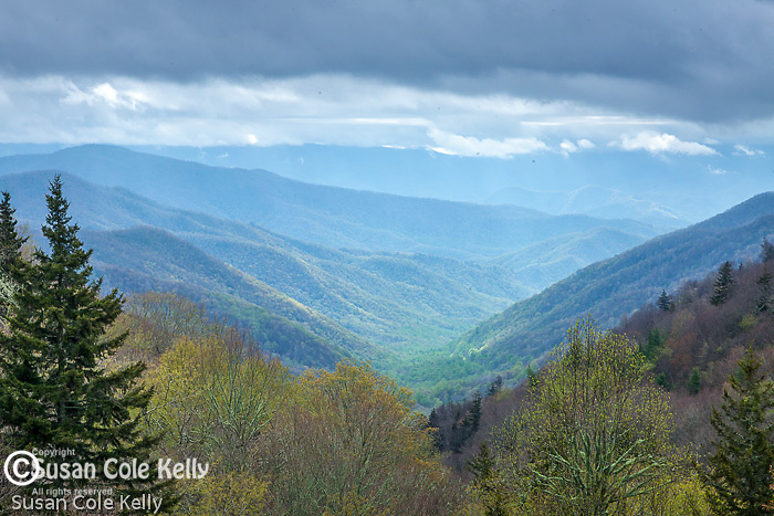 The Oconaluftee Valley, Great Smoky Mountains National Park, North Carolina, USA