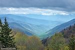 The Oconaluftee Valley, Great Smoky Mountains National Park, North Carolina, USA