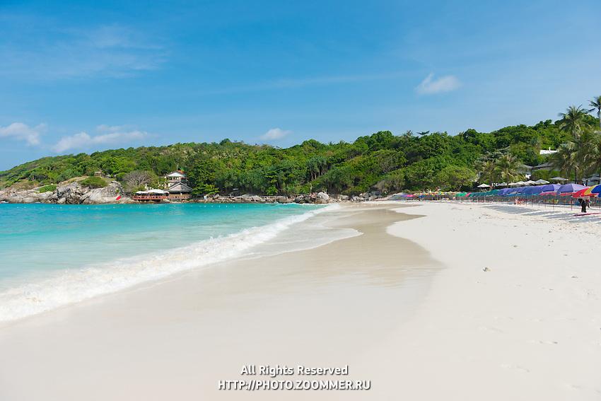 Patok bay idyllic beach in Racha island, Thailand