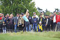Haydn Porteous (RSA) in the rough on the 10th during Round 4 of the D+D Real Czech Masters at the Albatross Golf Resort, Prague, Czech Rep. 03/09/2017<br /> Picture: Golffile | Thos Caffrey<br /> <br /> <br /> All photo usage must carry mandatory copyright credit     (&copy; Golffile | Thos Caffrey)