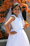 Sofia Saldana First Communion