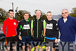l-r Colin Ahern, John Nicks, Denis Brosnan, Philip O'Connor and Kevin Finn at the  Churchill GAA 10K on Sunday