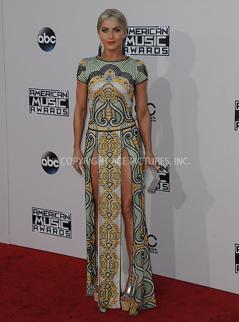 WWW.ACEPIXS.COM<br /> <br /> November 22 2015, LA<br /> <br /> Julianne Hough arriving at the 2015 American Music Awards at the Microsoft Theater on November 22, 2015 in Los Angeles, California.<br /> <br /> By Line: Peter West/ACE Pictures<br /> <br /> <br /> ACE Pictures, Inc.<br /> tel: 646 769 0430<br /> Email: info@acepixs.com<br /> www.acepixs.com