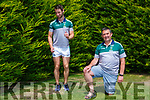 Anthony Clifford and his Joe Clifford who participated in the Listry GAA club 48hour run/walk in aid of the Kerry Hospice Foundation and and Kerry Cancer Support group on Sunday