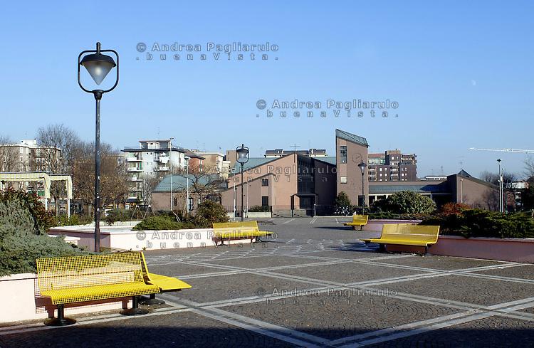 Corsico (MI).Piazza Europa