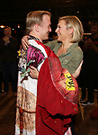 "Erica Mansfield and Ryan Worsing during the Broadway Opening Night Legacy Robe Ceremony honoring Erica Mansfield for  ""Kiss Me, Kate""  at Studio 54 on March 14, 2019 in New York City."