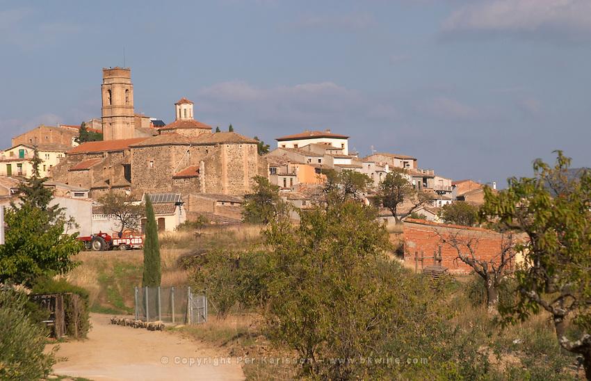Gratallops village. Priorato, Catalonia, Spain