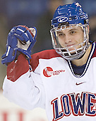 Rene Gauthier - The University of Massachusetts-Lowell River Hawks defeated the Boston College Eagles 6-3 on Saturday, February 25, 2006, at the Paul E. Tsongas Arena in Lowell, MA.