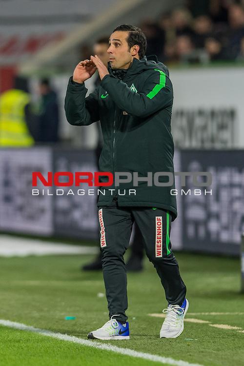 24.02.2017, Volkswagen Arena, Wolfsburg, GER, 1.FBL, VfL Wolfsburg vs SV Werder Bremen<br /> <br /> im Bild<br /> Alexander Nouri (Trainer SV Werder Bremen), <br /> <br /> Foto &copy; nordphoto / Ewert