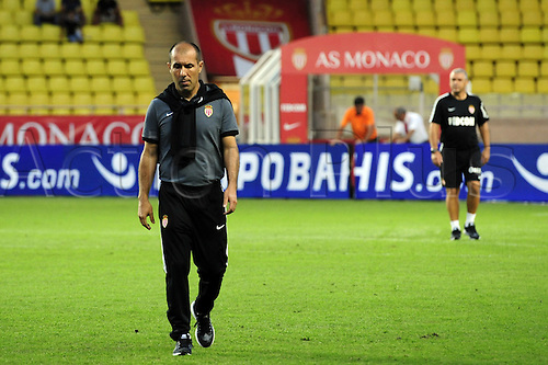 03.08.2016. Monaco, France. UEFA Champions league qualifying round, AS Monaco versus Fenerbahce. Tea manager Leonardo Jardim (mon)