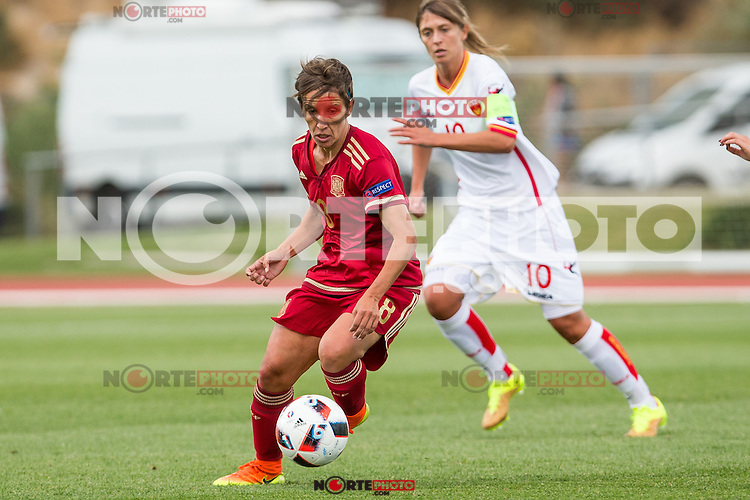 Spain's Sonia Bermudez during the match of  European Women's Championship 2017 at Las Rozas, between Spain and Montenegro. September 15, 2016. (ALTERPHOTOS/Rodrigo Jimenez) /NORTEPHOTO