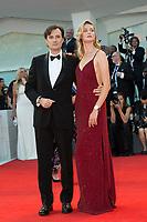 Matteo Ceccarini, Eva Riccobono at the Downsizing premiere and Opening Ceremony, 74th Venice Film Festival in Italy on 30 August 2017.<br /> <br /> Photo: Kristina Afanasyeva/Featureflash/SilverHub<br /> 0208 004 5359<br /> sales@silverhubmedia.com