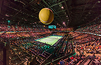 Rotterdam, The Netherlands,  15 Februari, 2018, Ahoy, Tennis, ABNAMRO World Tennis Tournament,  Overall view Arena<br /> Photo: www.tennisimages.com