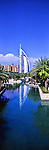 Panorama - Burj Al Arab Hotel, Dubai, United Arab Emirates<br />