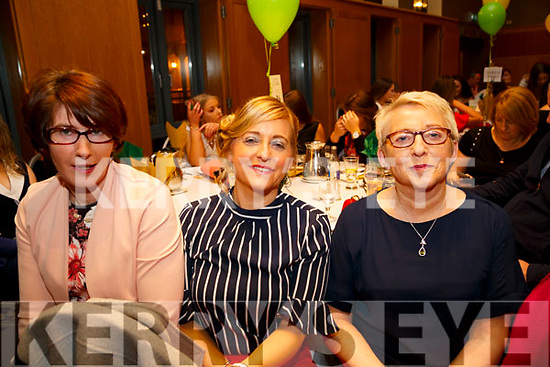 : <br /> <br /> <br /> <br /> Mary Kearney,Joanne and Eileen at the Kerry Camogie award dinner at Ballyroe Heights Hotel,Tralee on Friday night.