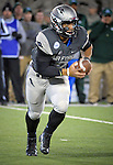 November 12, 2016 - Colorado Springs, Colorado, U.S. -  Air Force quarterback, Arion Worthman #2, rolls out in the Falcon's run-pass option offense during the NCAA Football game between the Colorado State University Rams and the Air Force Academy Falcons, Falcon Stadium, U.S. Air Force Academy, Colorado Springs, Colorado.  Air Force defeats Colorado State 49-46.