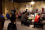 "Hands-on learning for children at the ""Terra Cotta Warriors: The Emperor's Painted Army,"" Exhibit directly from Xian in the Shaanxi Province, China which debuted in 2014 at the Children's Museum, Indianapolis, Indiana, USA"