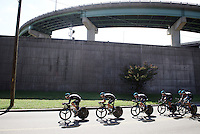 Team SKY (UK) on course<br /> <br /> Elite Men&rsquo;s Team Time Trial<br /> UCI Road World Championships Richmond 2015 / USA