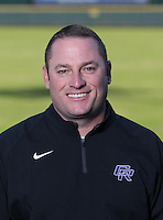 Jeremy Trojacek, baseball head coach, Cedar Ridge High School  (LOURDES M SHOAF for Round Rock Leader - lulyphoto.com)