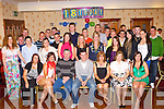 Stephen Bartlett Castleisland seated centre celebrated his 18th birthday with family and friends in the Crown Hotel Castleisland on Saturday night   Copyright Kerry's Eye 2008
