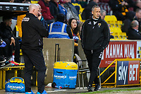 MK Dons manager Keith Millen during the Sky Bet League 1 match between Bradford City and MK Dons at the Northern Commercial Stadium, Bradford, England on 24 April 2018. Photo by Thomas Gadd.
