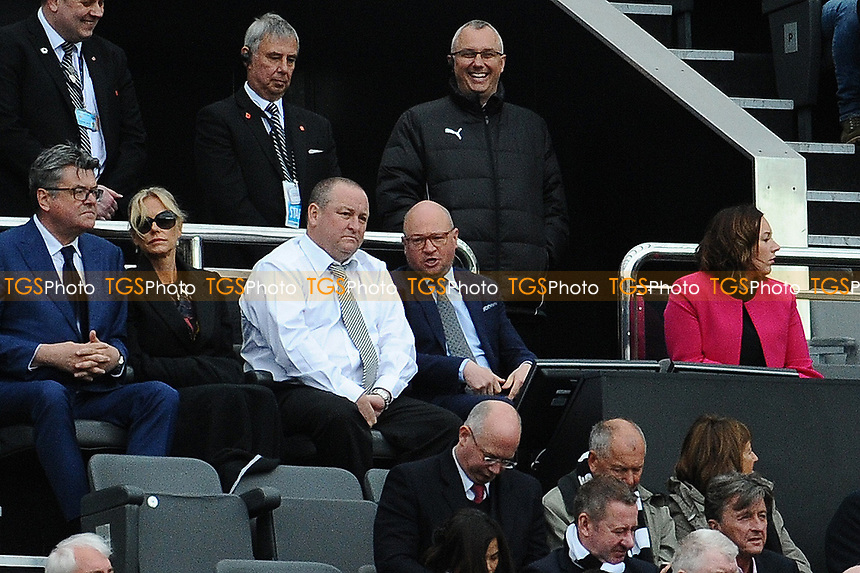 Newcastle United owner Mike Ashey during Newcastle United vs Barnsley, Sky Bet EFL Championship Football at St. James' Park on 7th May 2017