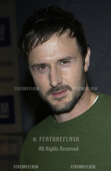"Actor DAVID ARQUETTE at the General Motors ""ten"" - Cars, Stars and Oscars party in Hollywood..March 18, 2003..© Paul Smith / Featureflash"