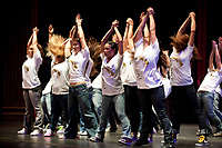 Occidental College students perform in the Oxy Dance Production on Friday, March20, 2009.  (Photo by Marc Campos, Occidental College Photographer)