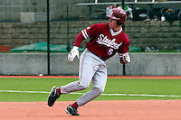 PULLMAN, WA-April 3, 2011:  Stanford player Zack Jones in a game against Washington State University in Pullman, Washington.  Stanford won the game 4-3.
