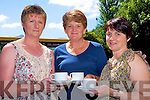 Enjoying the coffee morning in aid of the Beaufort Community defibrillators purchase, in the Community Centre on Saturday were Mary O'Connor, Sheila O'Connor and Niamh Clifford.