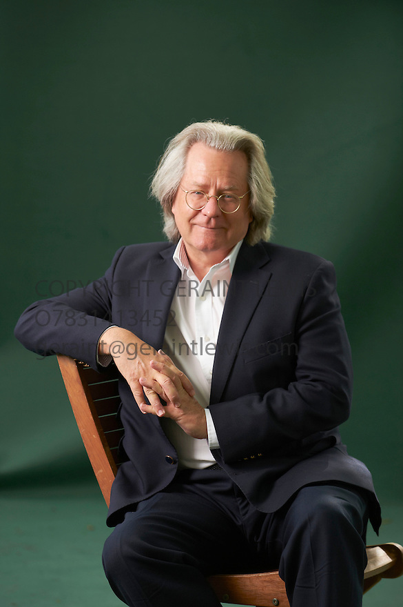 A C Grayling, Philosopher and writer of the book The Good Book at The Edinburgh International Book Festival 2011.  Credit Geraint Lewis