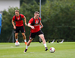Caolan Lavery of Sheffield Utd during the Sheffield Utd training session at the Shirebrook training complex, Sheffield. Picture date: 2nd September 2016. Picture Simon Bellis/Sportimage