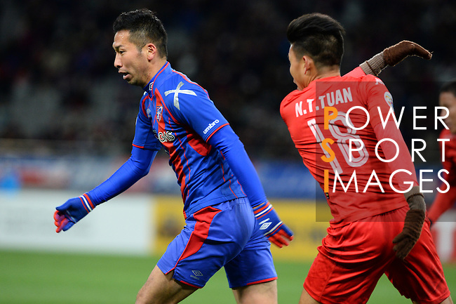 FC TOKYO (JPN) vs BECAMEX BINH DUONG (VIE) during the 2016 AFC Champions League Group E Match Day 2 match on 01 March 2016 at the Tokyo Stadium in Tokyo, Japan. Photo by Stringer / Lagardere Sports