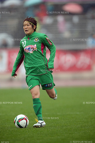 Mizuho sakaguchi (Beleza), NOVEMBER 8, 2015 - Football / Soccer : 2015 Plenus Nadeshiko League Division 1 between NTV Beleza 0-0 INAC KOBE LEONESSA at Shonan BMW Stadium Hiratsuka, Kanagawa, Japan. (Photo by Jun Tsukida/AFLO SPORT)