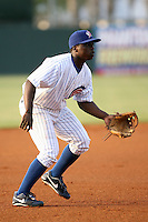 April 16, 2009:  Third baseman Marquez Smith of the Daytona Cubs, Florida State League Class-A affiliate of the Chicago Cubs, during a game at Jackie Robinson Stadium in Daytona Beach, FL.  Photo by:  Mike Janes/Four Seam Images