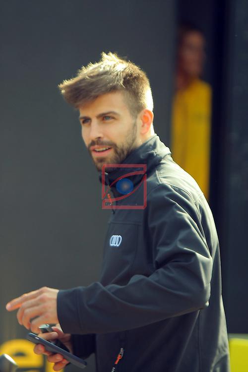 AUDI Premium Partner del FC Barcelona.<br /> Gerard Pique.