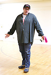 Director Andy Frickman performing at the Open Press Rehearsal for 'Heathers The Musical' on February 19, 2014 at The Snapple Theatre Center in New York City.