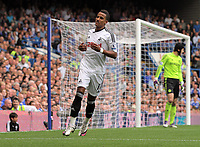 Pictured: Scott Sinclair of Swansea. Saturday 17 September 2011<br />