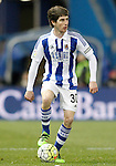 Real Sociedad's Aritz Elustondo during La Liga match. March 1,2016. (ALTERPHOTOS/Acero)
