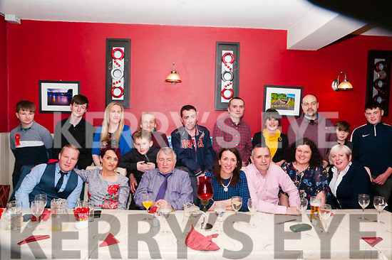 Swift Family Reunion : The Swift family, Listowel held a family reunion co coinsde with the confirmation of Kyle Swift at Eabha Joan's Restaurant, Listowel and afterwards at the Saddle Bar, Listowel.