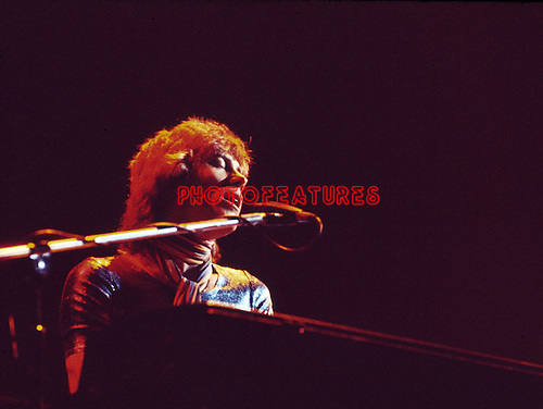 Chicago 1973 Robert Lamm at the Rainbow Theatre, London.<br /> © Chris Walter