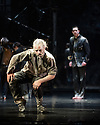 London, UK. 25.03.2014. Compagnie du Hanneton/ James Thierree presents the UK premiere of TABAC ROUGE at Sadler's Wells. Picture shows: Manuel Rodriguez and James Thierree. Photograph © Jane Hobson.
