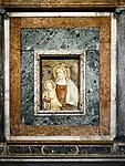 Madonna, lateral chapels, Basilica di Sant'Apollinare Nuevo, Ravenna, Italy